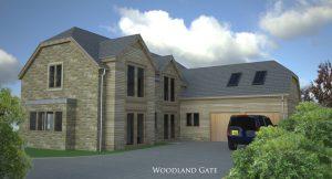 Woodland Gate - Proposal Render